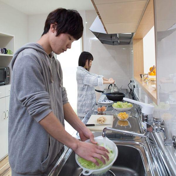 キッチン・朝食作り