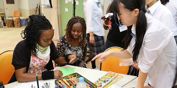 ケニア ナイロビ大学との文化連携